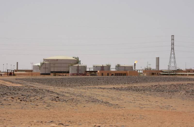 A view shows El Feel oil field near Murzuq, Libya, July 6, 2017. Picture taken July 6, 2017. REUTERS/Aidan Lewis