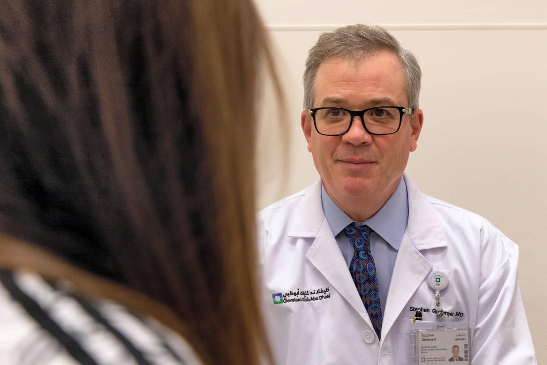 Dr. Stephen Grobmyer. Courtesy Cleveland Clinic