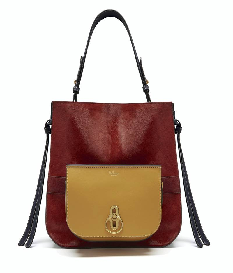 Mulberry Amberley Hobo bag. Courtesy Mulberry