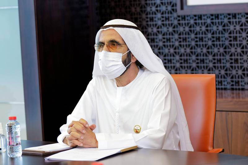 Sheikh Mohammed bin Rashid, Vice President and Prime Minister of the UAE, and Ruler of Dubai, met with the economy ministers in the country. Wam