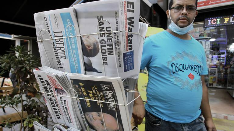 An image that illustrates this article Algeria ex-presidential candidate jailed for four years