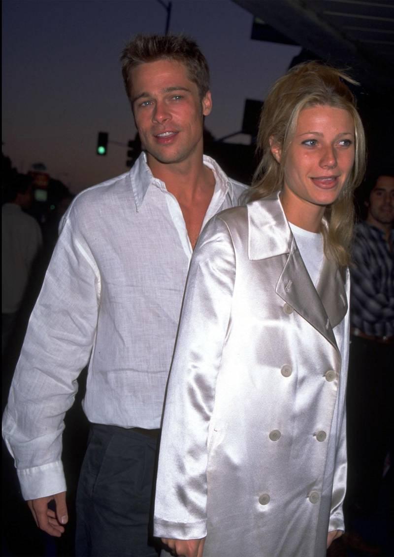 UNDATED FILE PHOTO: Brad Pitt and Gwyneth Paltro. (Photo by Diane Freed)