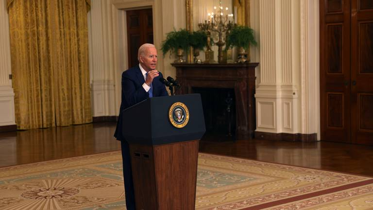 An image that illustrates this article Biden has few options on Afghanistan as political attacks mount