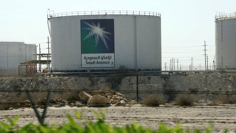 An image that illustrates this article Saudi Aramco targets net-zero from operations by 2050, CEO says