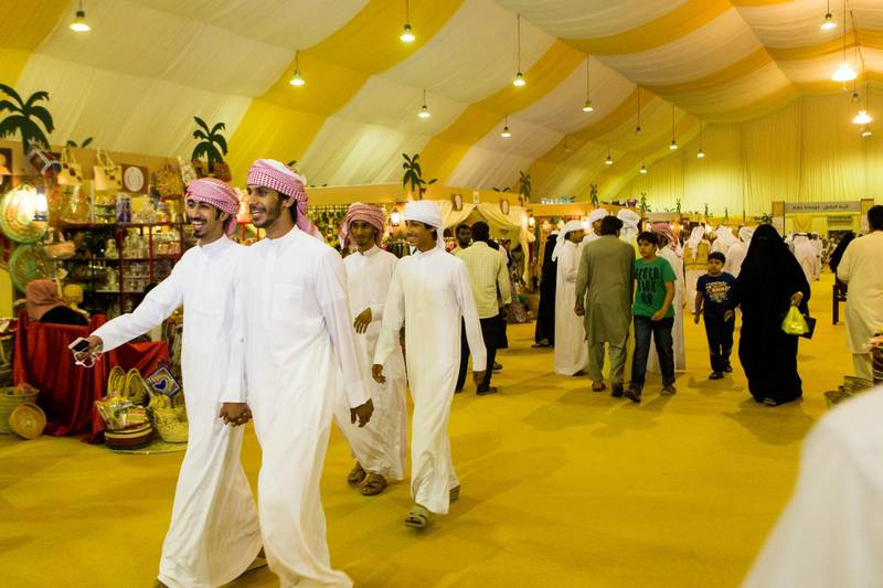 Liwa, United Arab Emirates, July 20, 2017:    General view of the Liwa Date Festival in the Al Dhafra Region of Abu Dhabi on July 20, 2017. The festival runs from July 19th to 29th. Christopher Pike / The NationalReporter: Anna ZachariasSection: News