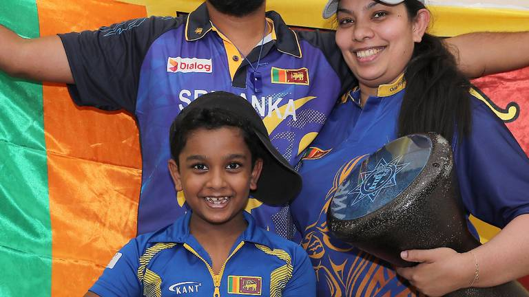 An image that illustrates this article Instruments for Sri Lanka's papare music to be allowed in stadiums