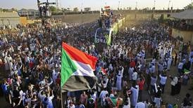 Thousands march in Khartoum to support Sudan's transition