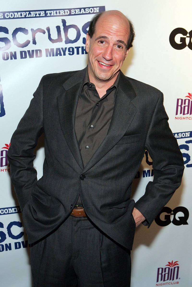 """LAS VEGAS - APRIL 27:  Actor Sam Lloyd arrives at a third season DVD launch event and season five wrap party for the television series """"Scrubs"""" at the Rain Nightclub inside the Palms Casino Resort April 27, 2006 in Las Vegas, Nevada. The season three DVD will be released on May 9, 2006.  (Photo by Ethan Miller/Getty Images) *** Local Caption *** Sam Lloyd"""