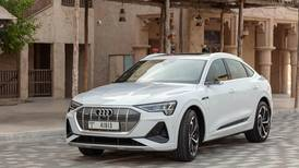 Audi's nippy new e-tron Sportback whispers its way into the UAE