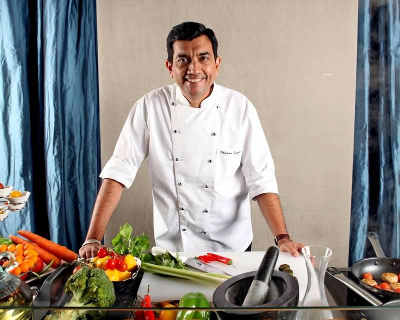 new caption: Sanjeev Kapoor will be appearing during Dubai Food Festival 2015 as part of Fetafeat. old caption: Handout of Sanjeev Kapoor, Masala Food Fair. Courtesy of Masala Food Fair *** Local Caption ***  BLOG12ja-MasalaFoodFair.jpg