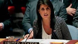 UN ambassador quarrels with White House over sanctions