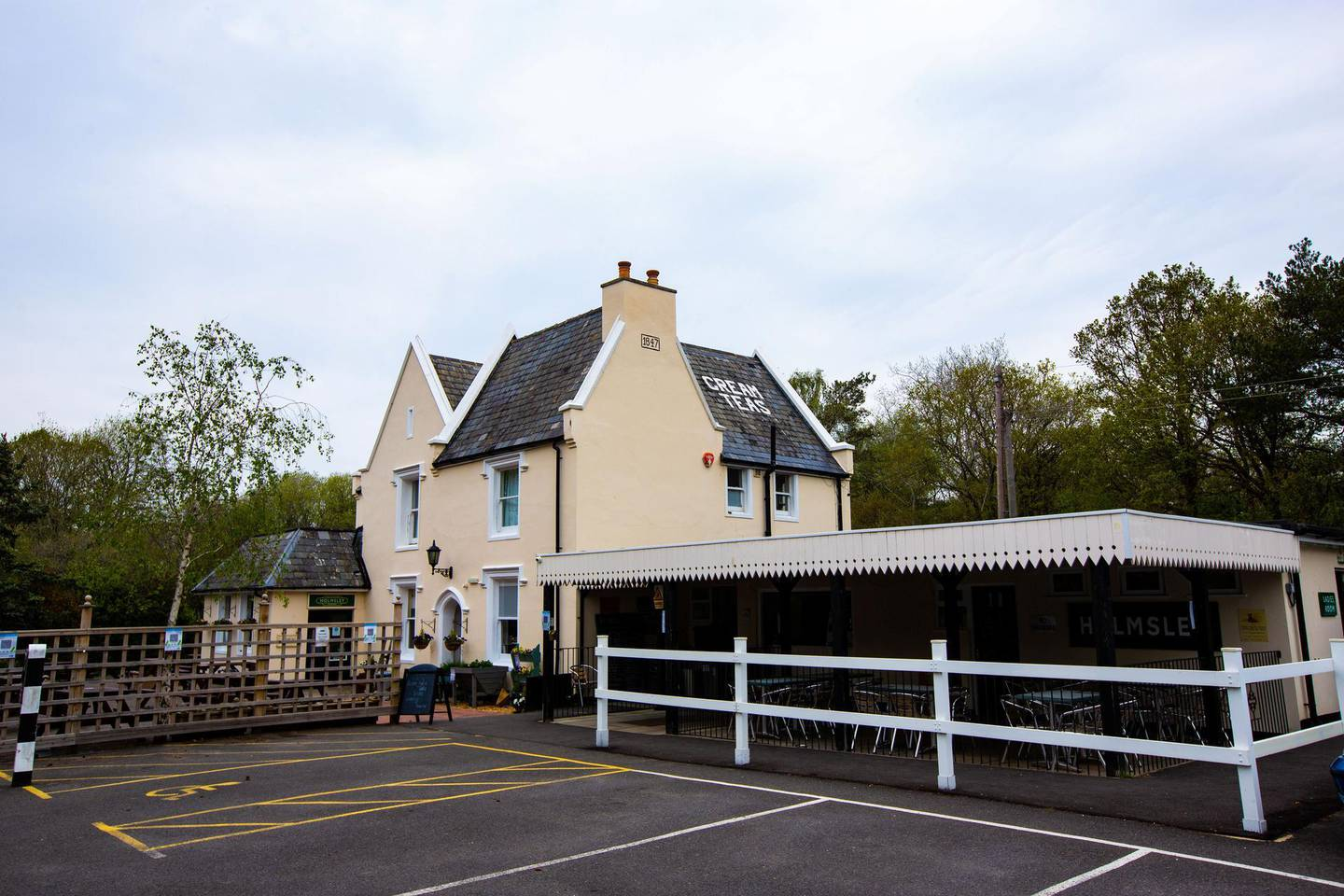 Paul Peachey feature on reinstating old railway lines, including the line the line in the New Forrest near Holmsley. The old station house at Holmsley is now a popular tea house and destination for tourists and day trippers.