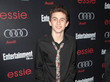 Timothee Chalamet's style evolution - in pictures