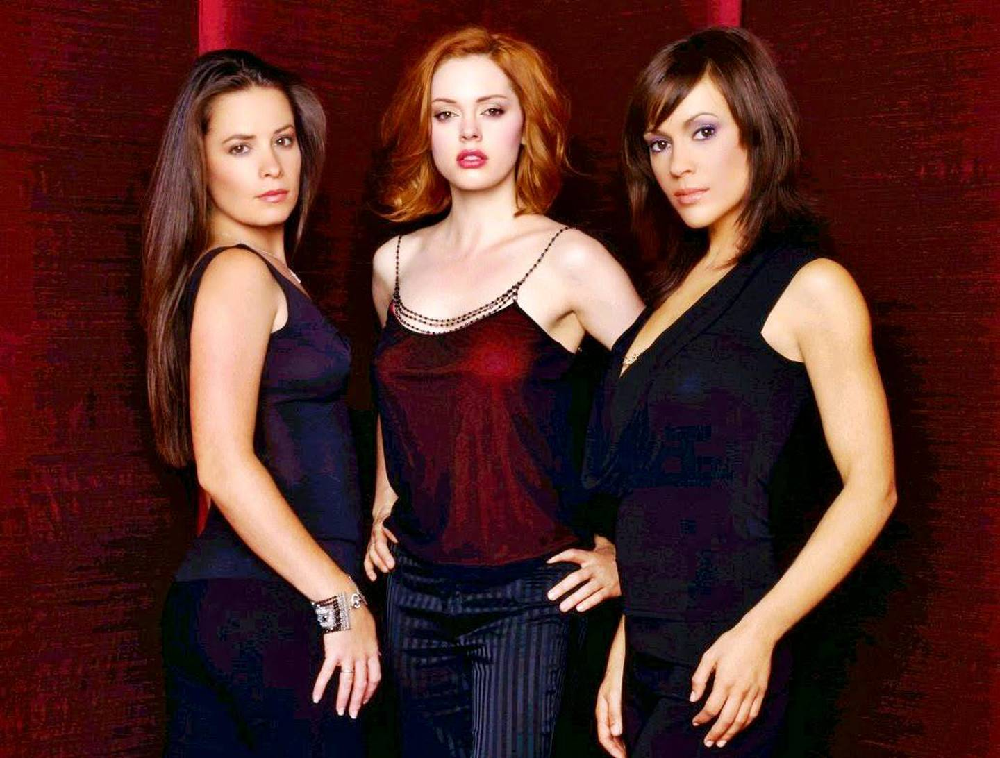 Three sister battle against the forces of evil in Charmed, which ran in the US from 1998 to 2006. From left: Holly Marie Combs, Rose McGowan, and Alyssa Milano. CREDIT: Courtesy Spelling Television