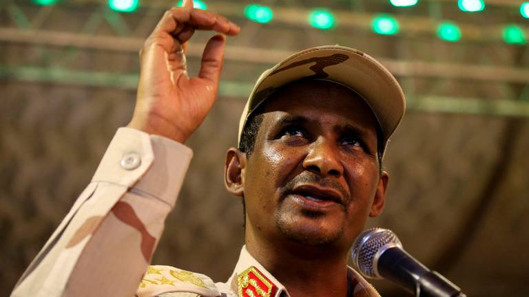 An image that illustrates this article Sudan's military knew about coup plot, general says