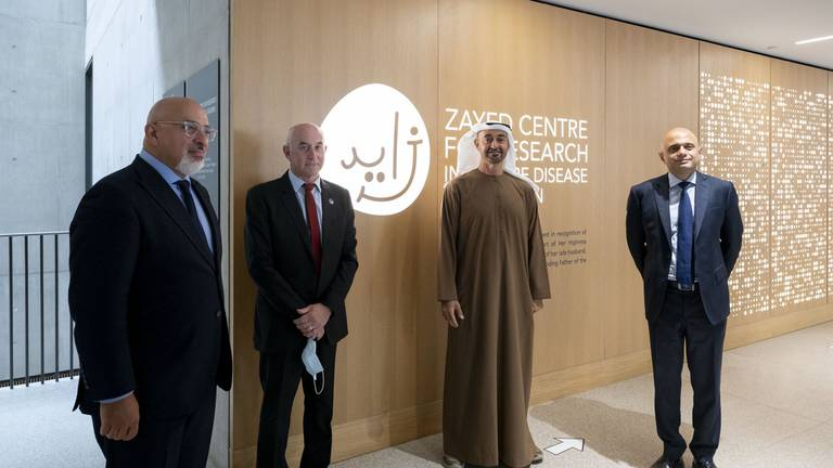 An image that illustrates this article Zayed Centre for Research offers lifeline to children with rare diseases