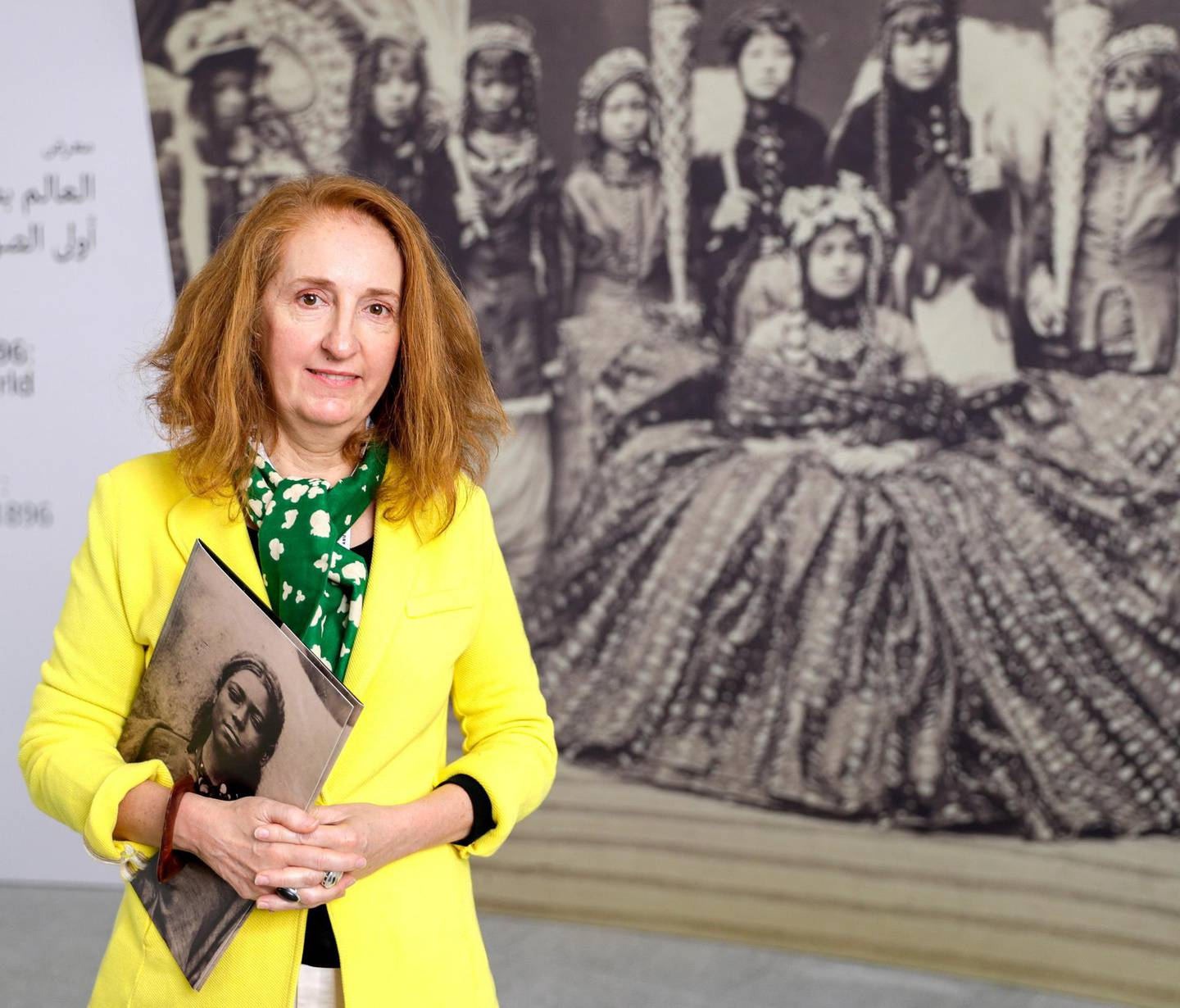 Abu Dhabi, April 23, 2019.    Photographs 1842-1896:  An early album of the world at Louvre Abu Dhabi.  --  Curated by Christine Barthe, Head of Photographic Collections Heritage Unit at the misée du quai Branly-  Jacques Chirac.Victor Besa/The National Section:  Arts & LifeReporter:  Melissa Gronlund