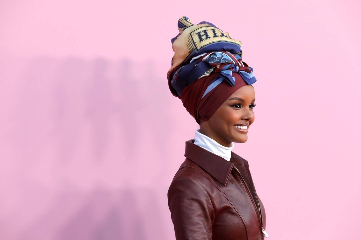 Model Halima Aden arrives for the 2019 CFDA Awards at The Brooklyn Museum in New York, U.S., June 3, 2019. REUTERS/Andrew Kelly