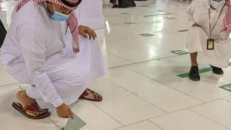 An image that illustrates this article Mosques and sporting venues return to full capacity in Saudi Arabia