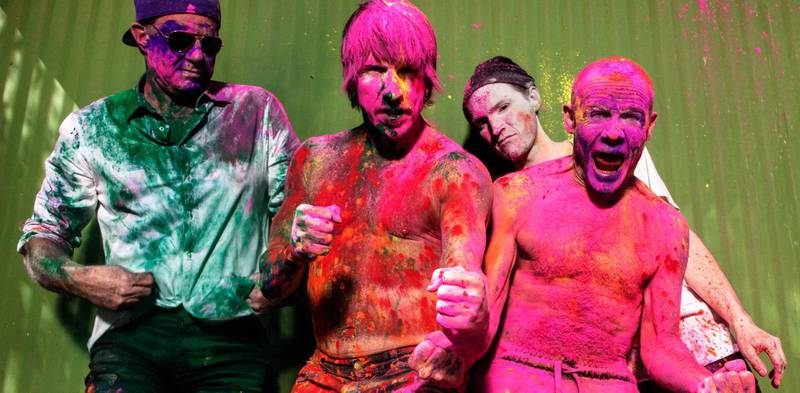 Red Hot Chili Peppers. Photo by Steve Keros