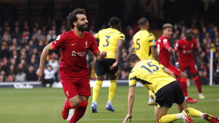 An image that illustrates this article Mohamed Salah on fire again: Premier League team of the week