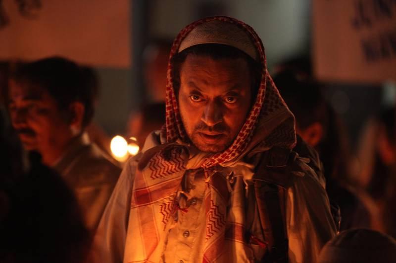"A handout still of Irrfan Khan in ""Madaari"" *NO CREDITS* *** Local Caption ***  madaari-irrfan07.JPG"