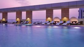 Five things to do today: Lounge by the pool at Dusit Thani Abu Dhabi Brazilian Pool Party and shop at the Marina Souq