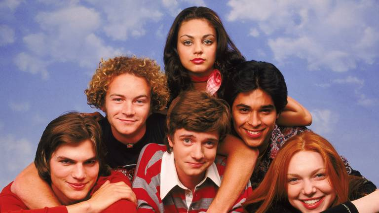 An image that illustrates this article Netflix announces 'That '70s Show' spin-off called 'That '90s Show'