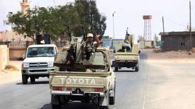 Tripoli militia fires on protesters in Libya's capital