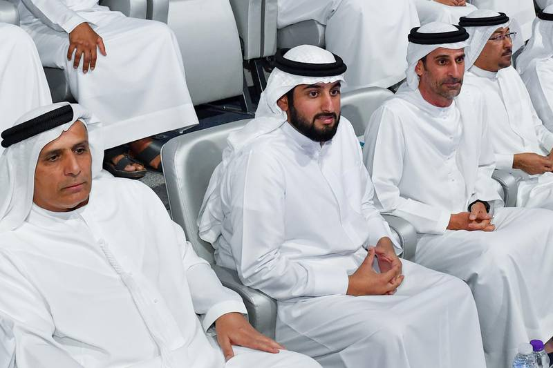 HH Sheikh Ahmed bin Mohammed bin Rashid Al Maktoum, Chairman of the Mohammed bin Rashid Al Maktoum Knowledge Foundation, Chairman of the National Olympic Committee, inaugurated the seventh edition of the Nad Al Sheba Sports Tournament which was launched at the Nad Al Sheba Sports Complex. Wam