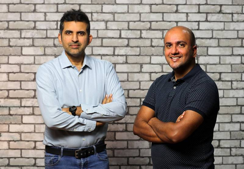 Dubai, United Arab Emirates - Reporter: N/A. Business. Hitesh Uchil and Abbas Jaffar Ali (L) who have created an app which helps save money for online shoppers. Thursday, July 2nd, 2020. Dubai. Chris Whiteoak / The National