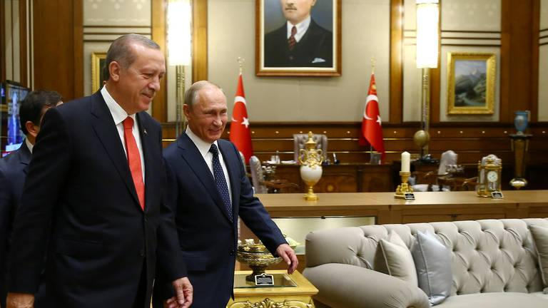 An image that illustrates this article Turkey and Russia zero in on Idlib