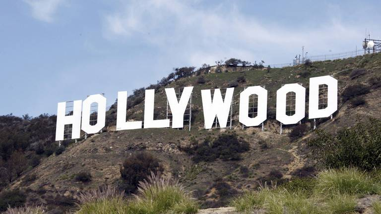 An image that illustrates this article Hollywood off-screen union members agree to strike