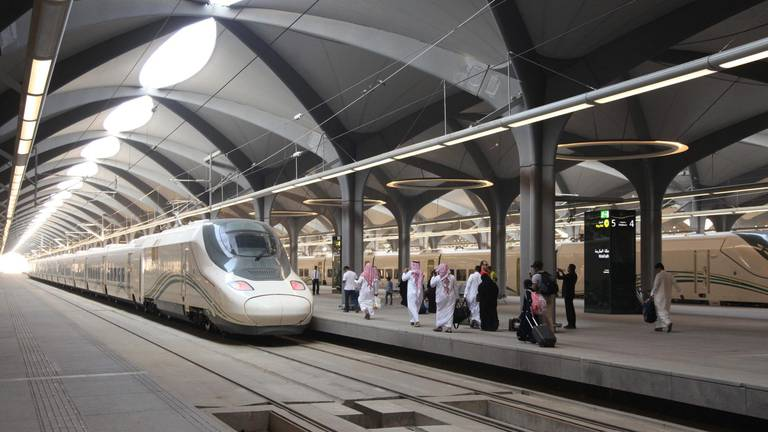 An image that illustrates this article Gulf states will see 'passenger rail network in next decade'