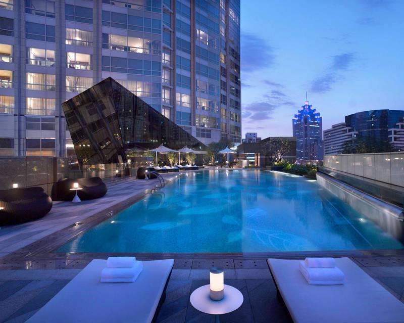 The Ritz-Carlton, Shenzhen in Shenzhen, China. Courtesy The Ritz-Carlton Hotel
