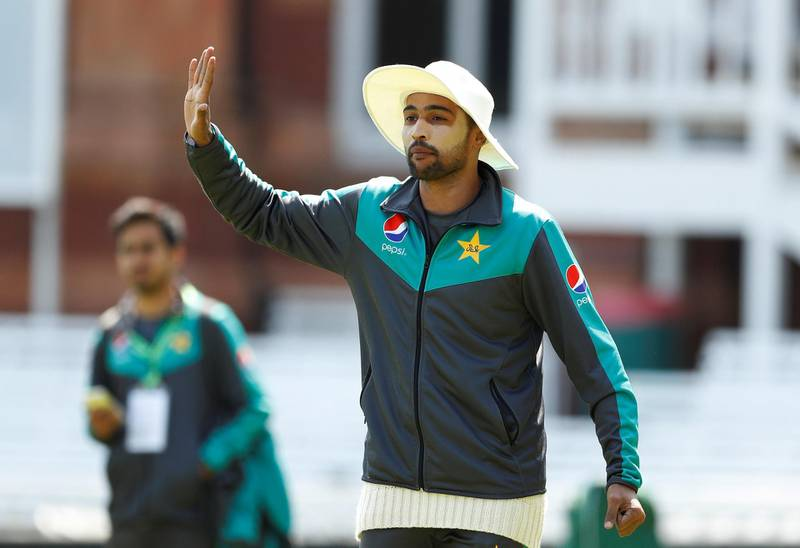 Cricket - Pakistan Nets - Lord's Cricket Ground, London, Britain - May 23, 2018   Pakistan's Mohammad Amir during nets   Action Images via Reuters/John Sibley