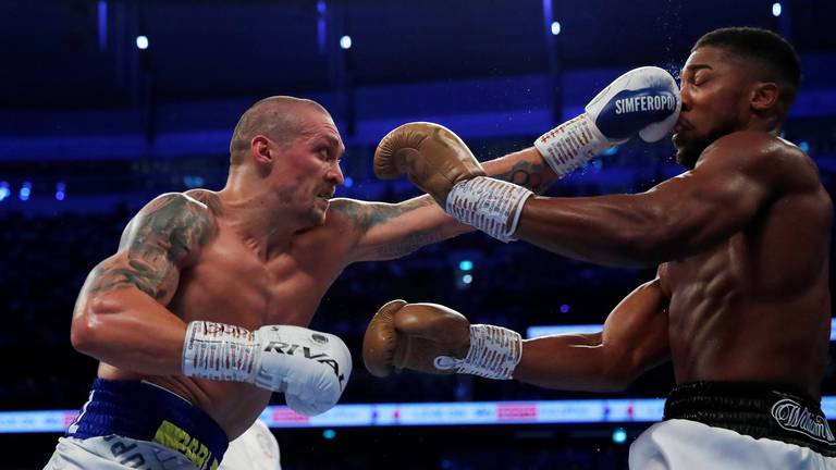 An image that illustrates this article Usyk's heavyweight title rematch with Joshua set for early 2022
