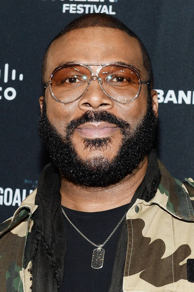 JOHANNESBURG, SOUTH AFRICA - DECEMBER 02: Tyler Perry attends the Global Citizen Festival: Mandela 100 at FNB Stadium on December 2, 2018 in Johannesburg, South Africa.  (Photo by Noam Galai/Getty Images for Global Citizen Festival: Mandela 100)
