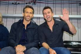Ryan Reynolds shocks fans at first live Wrexham game