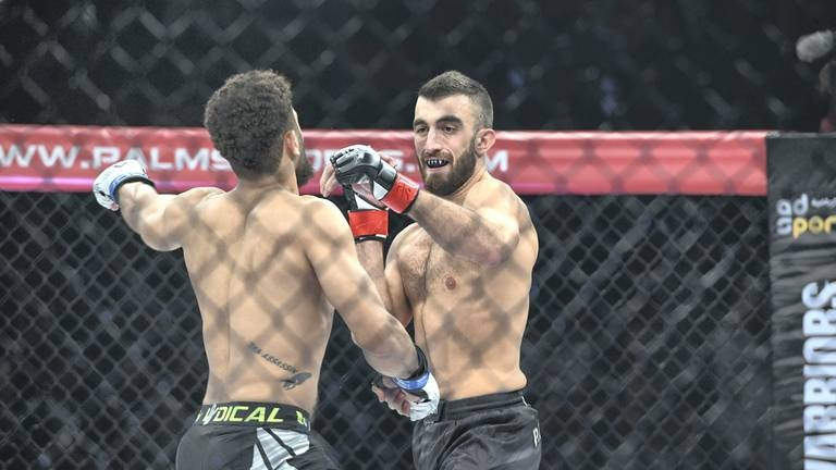 An image that illustrates this article Yahya in spotlight as he prepares for biggest night of MMA career