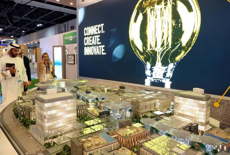 Dubai, United Arab Emirates - September 11th, 2017: 16th addition of Cityscape Global. Monday, September 11th, 2017 at World Trade centre, Dubai.