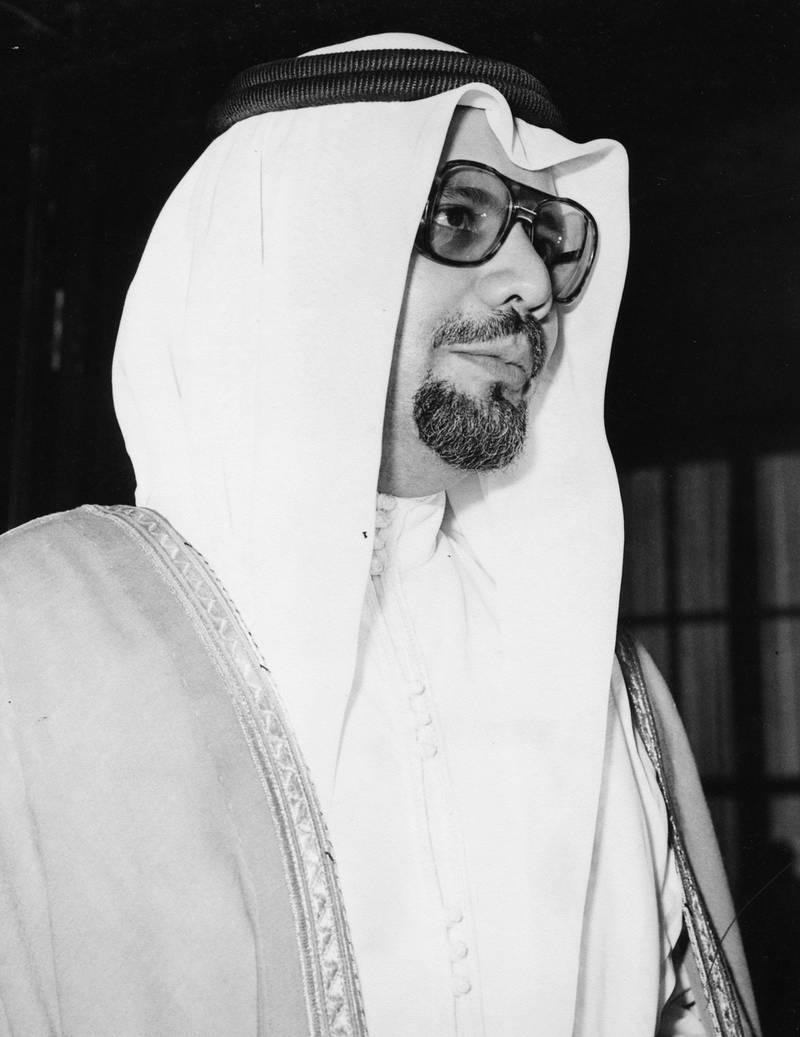 Portrait of Saudi Arabian politician Sheikh Ahmed Zaki Yamani, circa 1980. (Photo by Central Press/Hulton Archive/Getty Images)