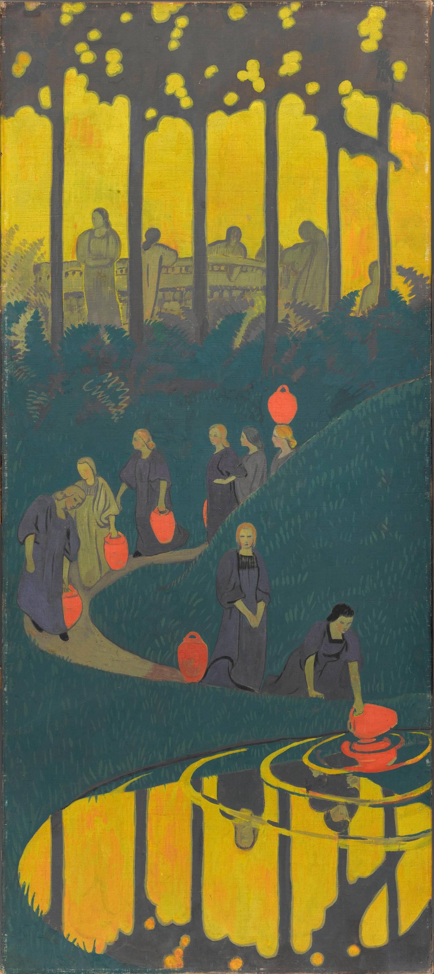 Sérusier Paul (1863-1927). Paris, musée d'Orsay. RF MO P 2016 8.