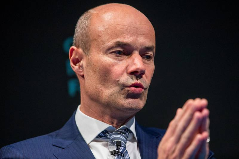 Marcus Schenck, deputy chief executive officer of Deutsche Bank AG, gestures while taking part in a panel discussion during the European Capital Markets at Bloomberg's European headquarters in London, U.K., on Wednesday, March 21, 2018. Deutsche Bank AG's co-head of investment banking said more clarity is needed on the deal reached by the U.K. and the European Union on a post-Brexit transition period. Photographer: Simon Dawson/Bloomberg