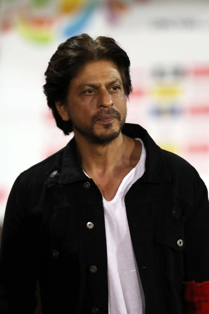 PORT OF SPAIN, TRINIDAD AND TOBAGO - SEPTEMBER 04: In this handout image provided by CPL T20, Shah Rukh Khan owner of Trinbago Knight Riders during the Hero Caribbean Premier League match between Trinbago Knight Riders and St Kitts Nevis Patriots at Queen's Park Oval on September 04, 2019 in Port of Spain, Trinidad And Tobago. (Photo by Ashley Allen - CPL T20/CPL T20 via Getty Images)