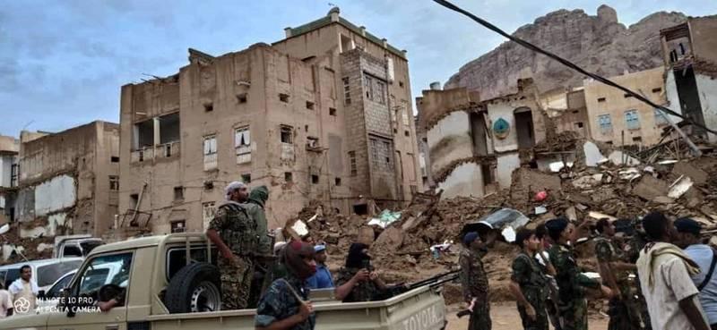 Flooding in Yemen. Ali Mahmood Mohamed for The National