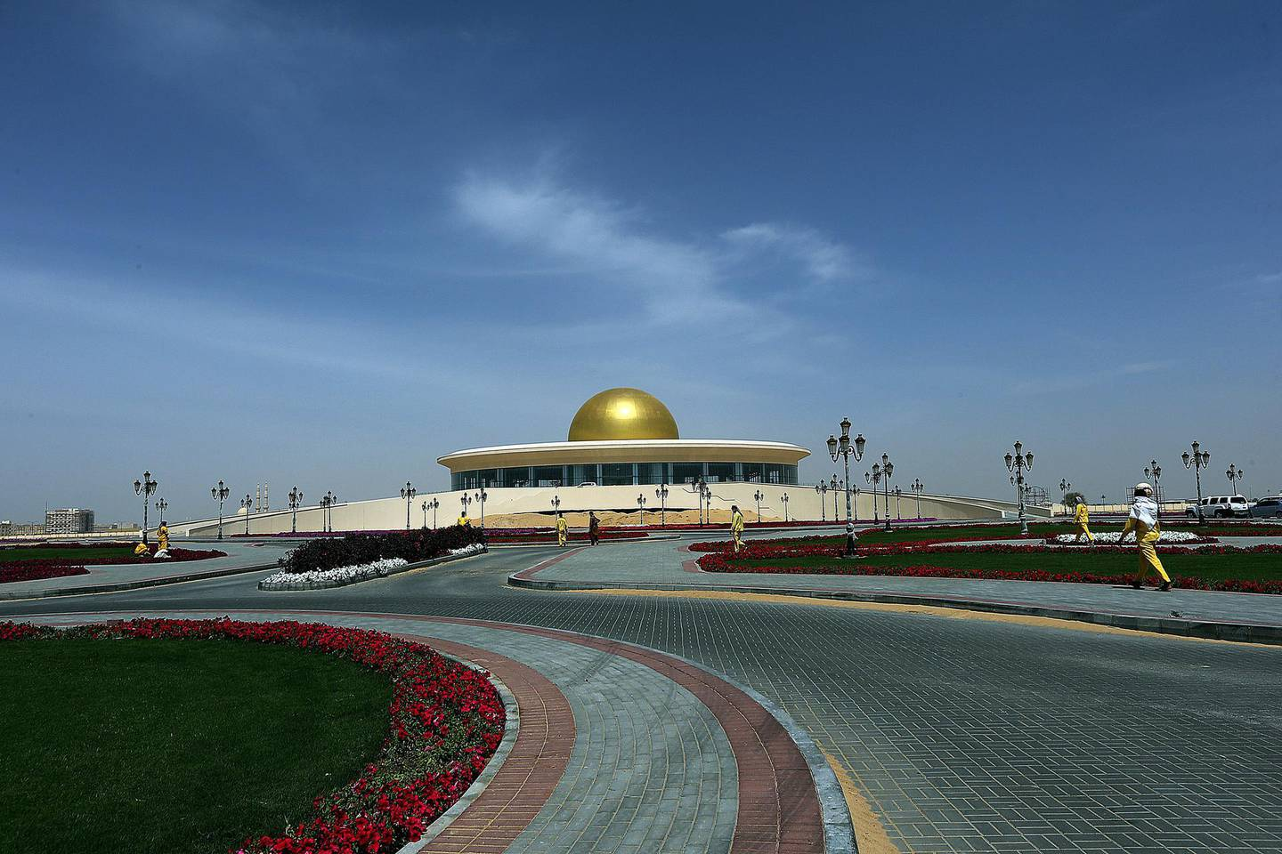 Sharjah, United Arab Emirates- March,24, 2015: Sharjah Centre for Space Sciences and Astronomy  in the Unversity  City in Sharjah . ( Satish Kumar / The National ) For Focus / Story by Rym Ghazal *** Local Caption ***  SK-SharjahAstronomy-24032015-01.jpg