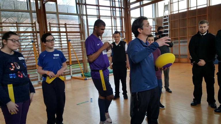 An image that illustrates this article UK teacher helping visually impaired students shortlisted for global award