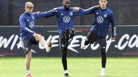 Chelsea's Havertz, Werner and Rudiger train with Germany for World Cup qualifier
