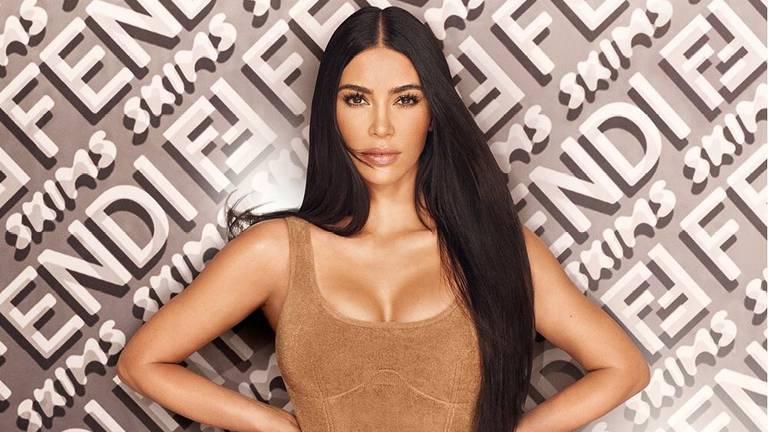 An image that illustrates this article Kim Kardashian's Skims x Fendi collection: what you need to know